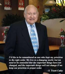 September Blog - Truett Cathy