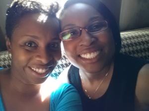 Me and Tia October 2014