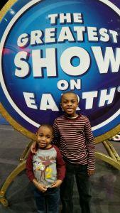 Boys at circus